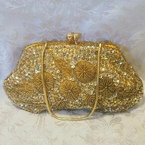 Gorgeous VTG Beaded Bag